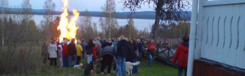 Valborgsfirande 30 april