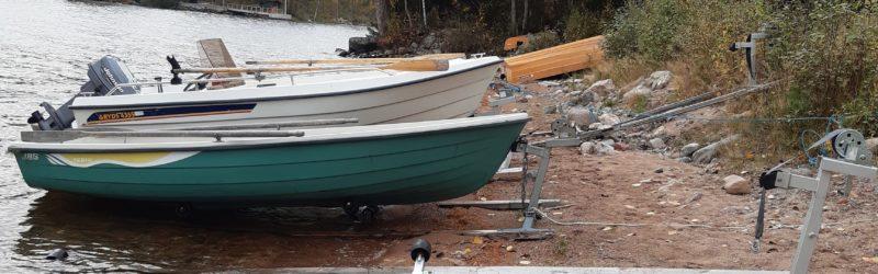 Senast 31 oktober 2020 ska båtar m.m. tas bort från stranden i Rog